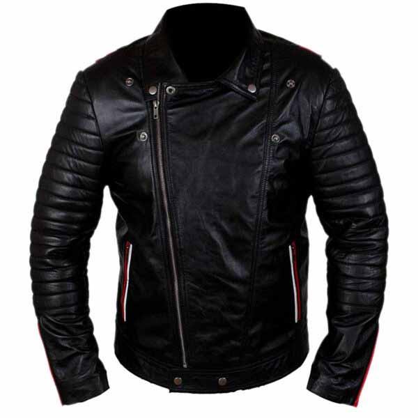 Buy Ryan Gosling Blue Valentine Black Faux Leather Jacket at $40 Off