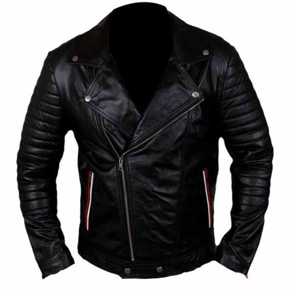 $40 Off - Blue Valentine Ryan Gosling Black Leather Jacket
