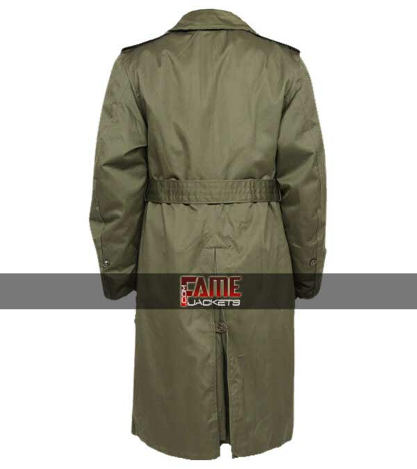 Buy US Army M-51 Faux Leather Long Rain Coat