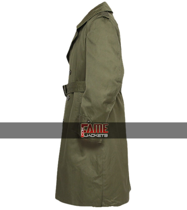 $50 Off - Military US Army M-51 Real Leather Trench Coat