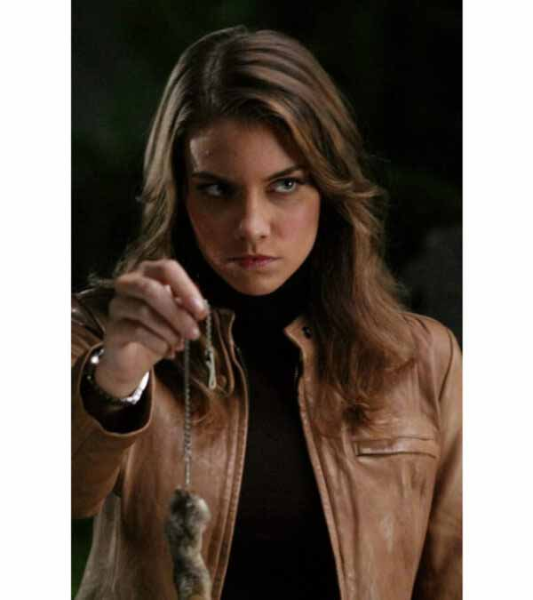 Abby Supernatural Bela Talbot Brown Faux Leather Jacket
