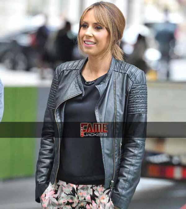 Alex Jones Women Real Leather Biker Jacket - $50 Off Sale