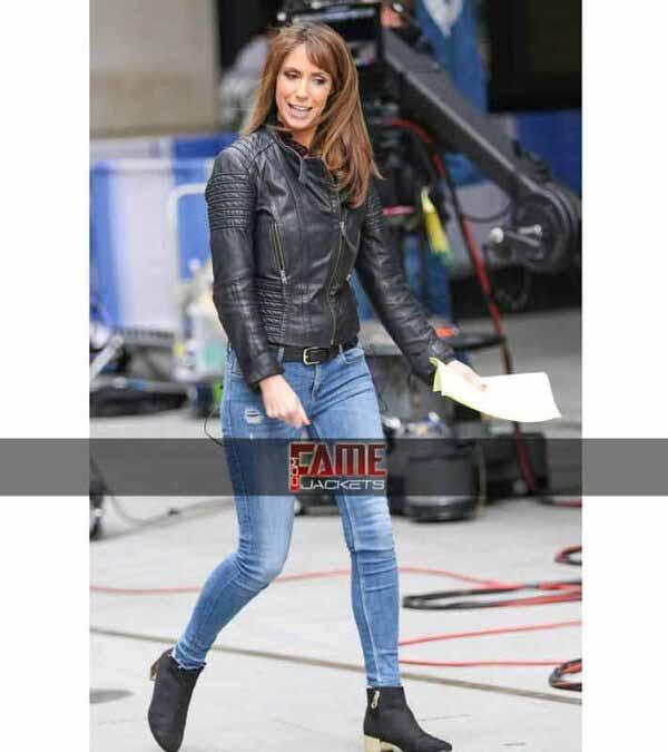 Get $50 Off - Alex Jones Women Genuine Leather Slim Jacket