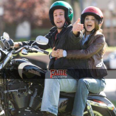 Jill Keri Russell Brown Leather Jacket
