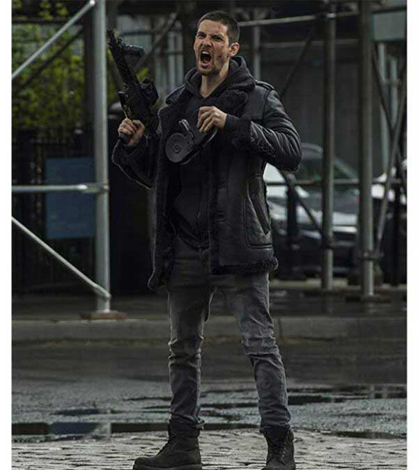 Get Punisher Costume in Real Black Leather