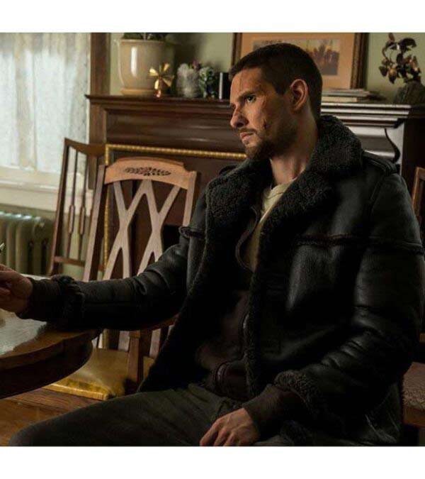 Buy Punisher Cosplay in Black Leather