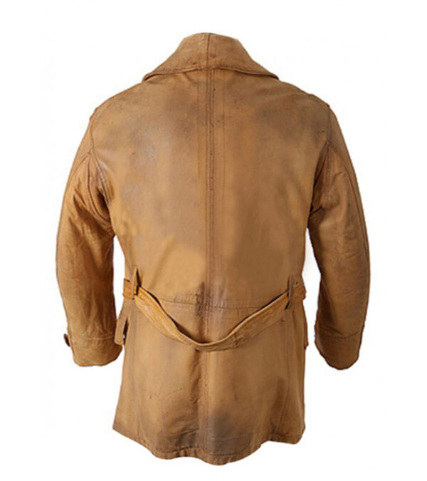Buy Legends Of the Fall Brad Pitt Brown Real Leather Rain Coat