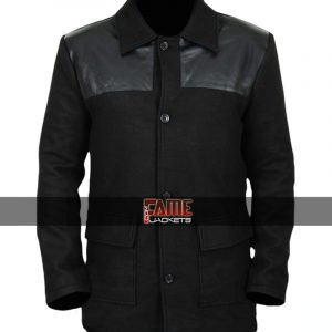 $40 off on Legion David Haller Black Wool & Leather Jacket