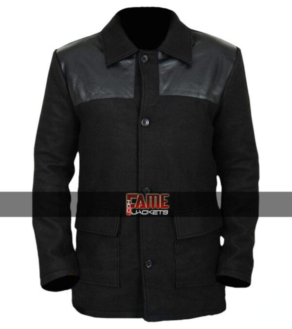 $40 off on Legion David Haller Black Wool & Leather Jacket
