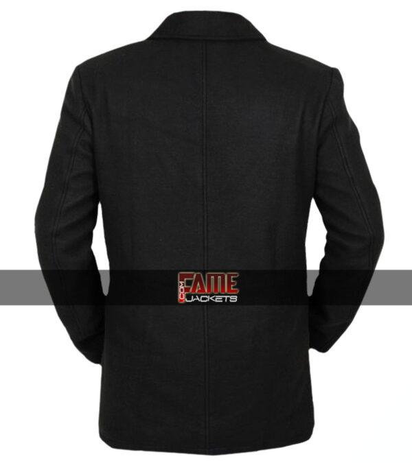Legion David Haller Black Wool & Leather Jacket