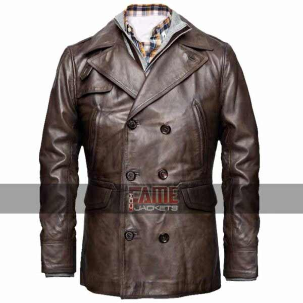 Buy Ben Affleck Real Leather Mens Winter Coat