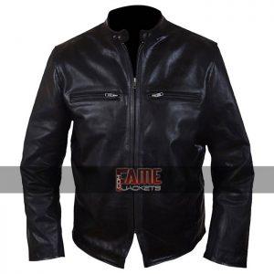 Buy Men's Black Leather Jacket