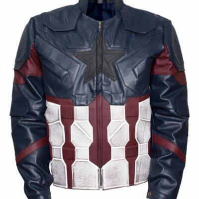 Buy Captain America Avengers Infinity War Leather Costume