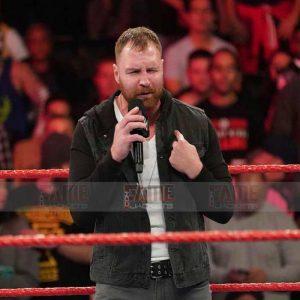 Buy Dean Ambrose WWE Black Denim Hoodie at $50 Off Sale