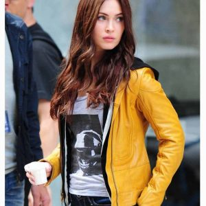 Buy Megan Fox Leather Jacket at $50 Off