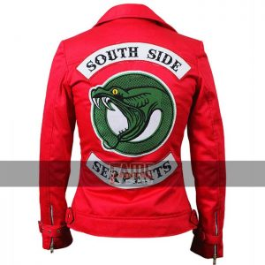 Buy Women's Red Riverdale Jacket at $99