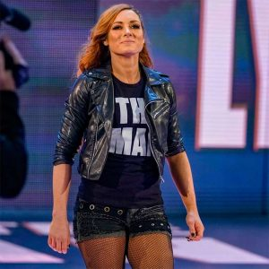 Becky Lynch Biker Leather Jacket