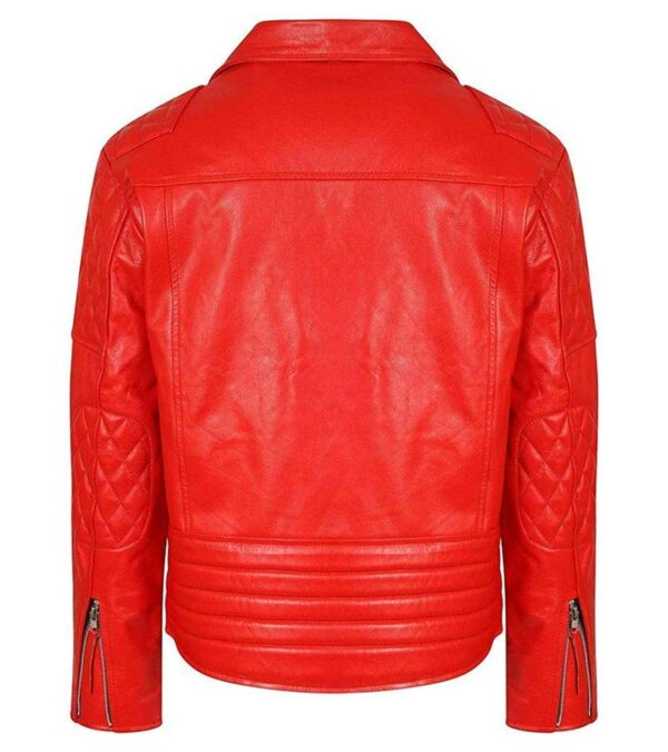 Cafe Racer Biker Leather jacket For Men