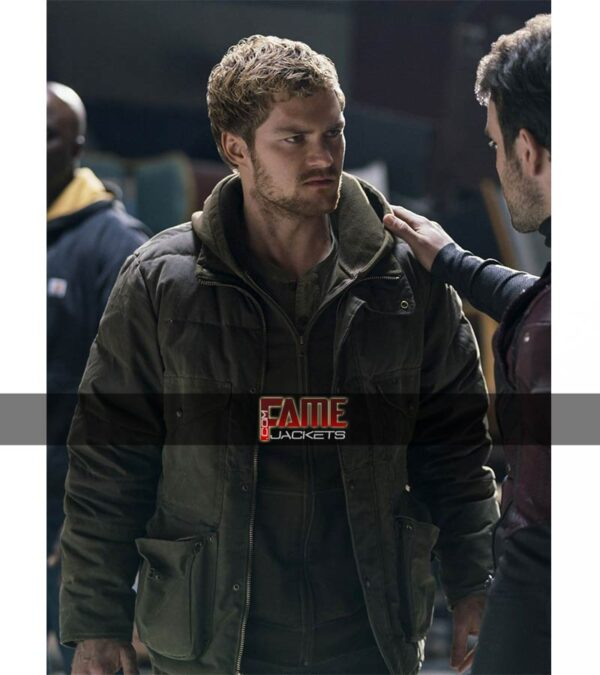 Danny Rand The Defenders casual leather jacket