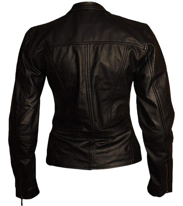 Women Real Biker Leather Jacket