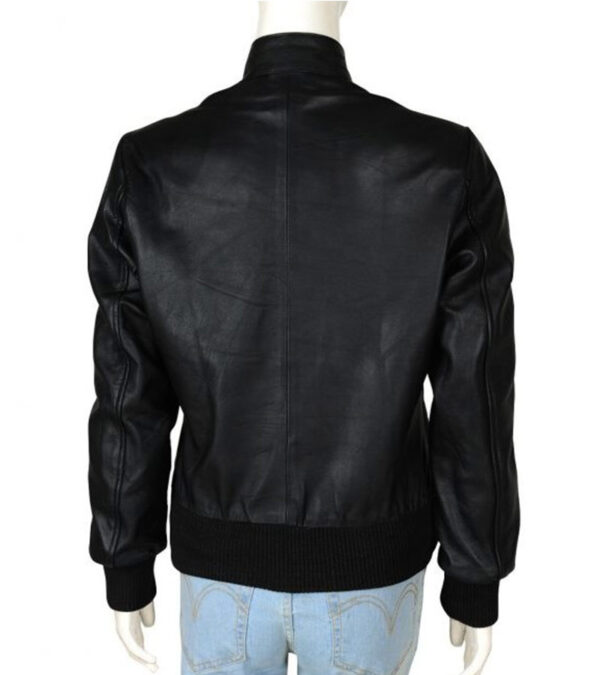 Elena Giblet Casual Back Leather Jacket