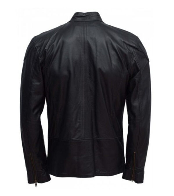 Gerard Butler Olympus Real Leather Jacket