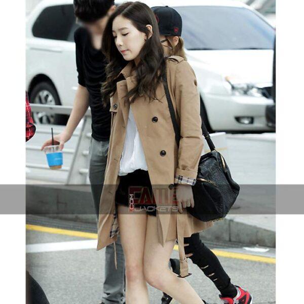 K-Pop Star Goo Hara OverCoat