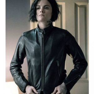 Ladies Black Slim Fit Real Leather Jacket