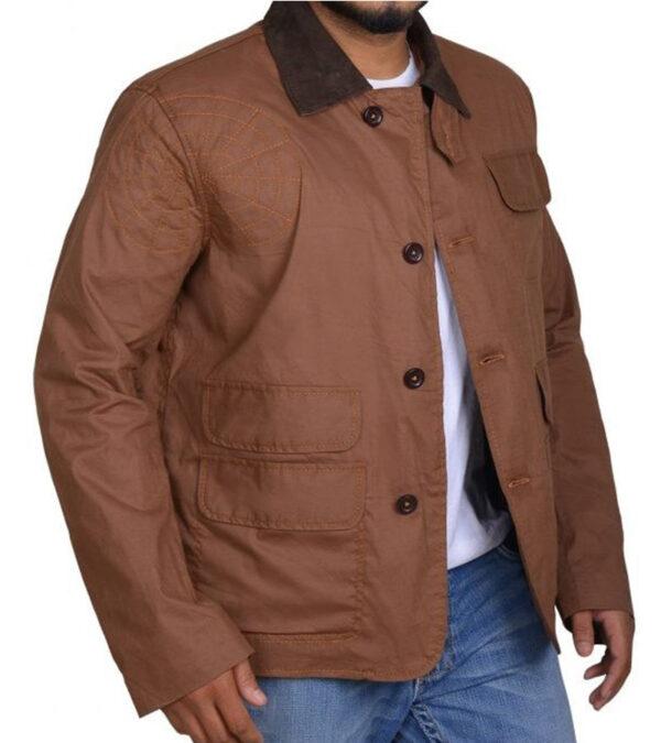 Chris Hemsworth Casual Cotton Bomber Jacket