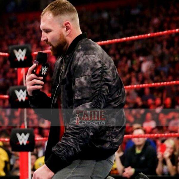 WWE Dean Ambrose real black distressed leather jacket