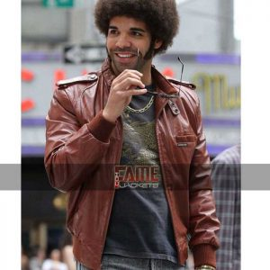 aubrey graham drake leather jacket