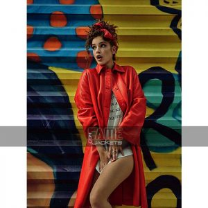 Buy Barbara Palvin Numero Russia No.010 Leather Coat