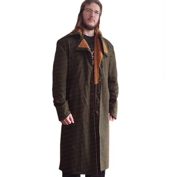 Buy Blade Runner Ryan Gosling WInter Coat in Green Color