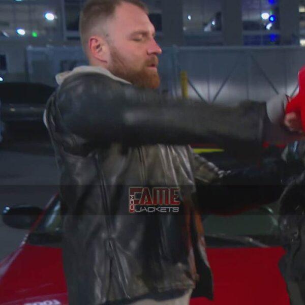 WWW Dean Ambrose Black Biker Jacket