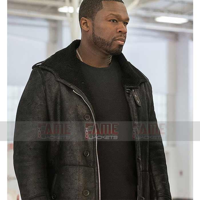 50 Cent Jackson Kanan Power Fur Lining, Mens Winter Coats Fur Lined