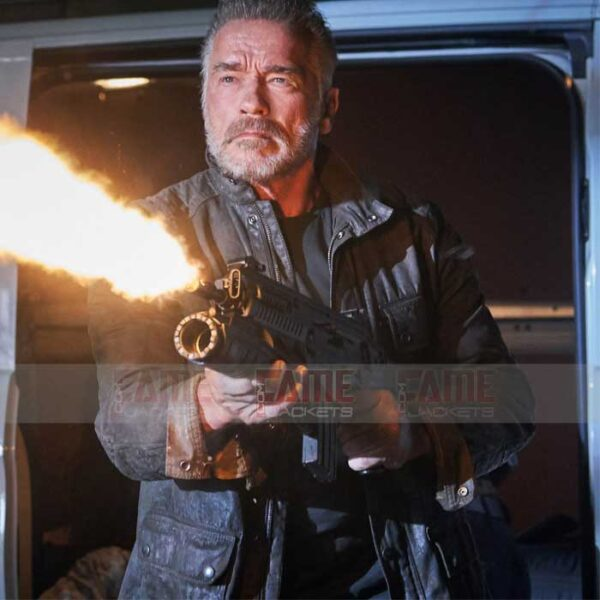 Buy Terminator Dark Fate Arnold Schwarzenegger Jacket at Just $129