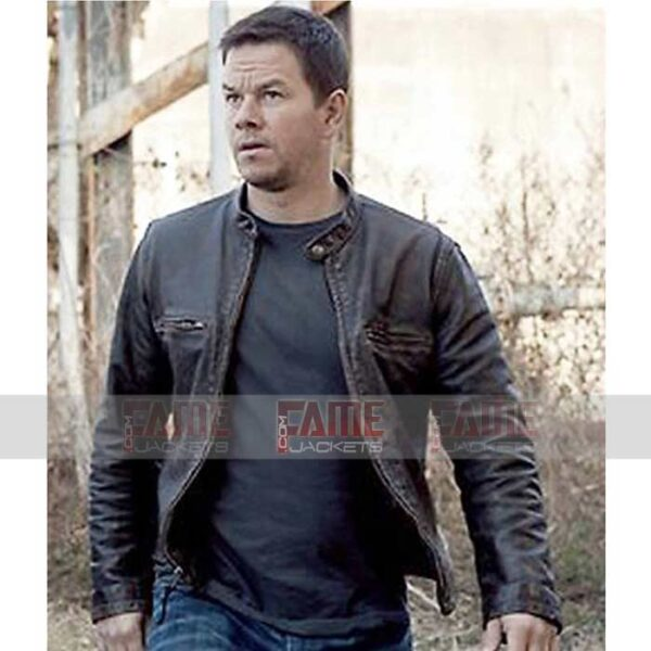 Contraband Mark Wahlbergs Slim Fit Distressed Jacket