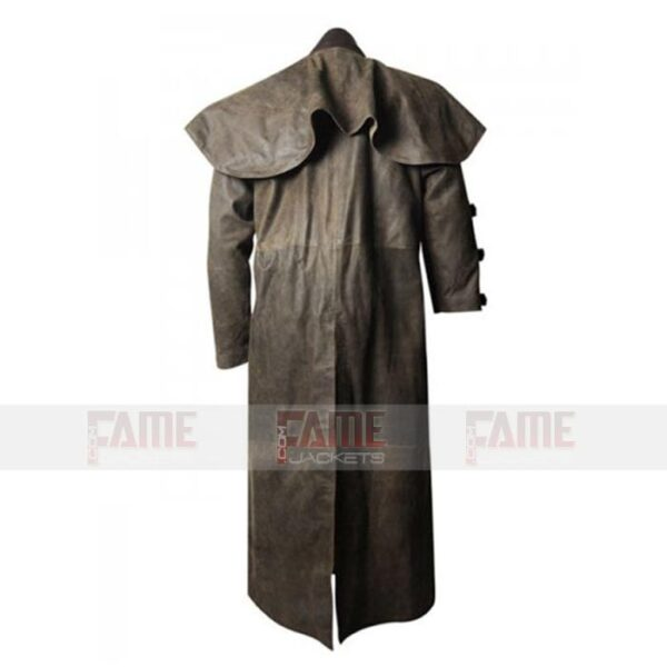 Mens Trench Winter Coat