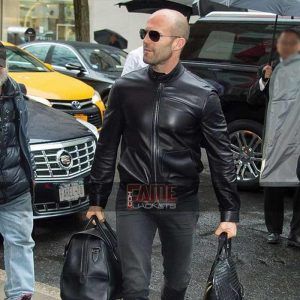 Mens Stylish Black Leather Slim Fit Jackets