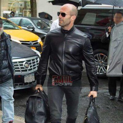 Mens Stylish Black Leather Slim Fit Jackets