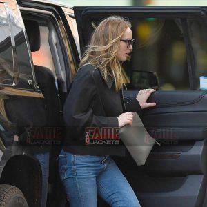 Buy Jennifer Lawrence Cotton Jacket at $70 Off Price