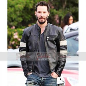 Buy Mens Black Leather Motorcycle Jacket