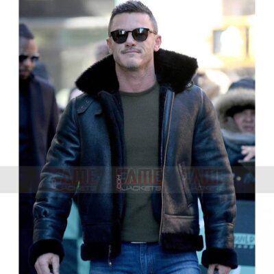 Luke Evan B3 Fur Lining Winter Jacket For Men