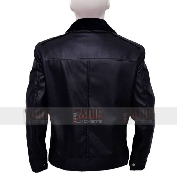 Mens Winter Jacket With Fur Collar