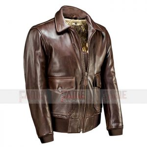 Mens Brown Leather Flight Jackets