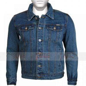 New Mens Denim Trucker Vintage Classic Retro Jacket