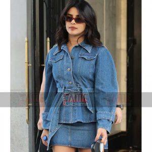Buy Women's Blue Denim Jacket at $80 Off Sale
