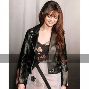 Women Latest Design Slim Fit Biker Leather Jacket