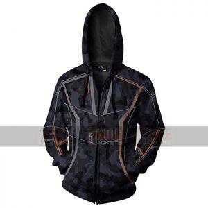 Avengers Infinity War Iron Man Camouflage Hoodie Jacket