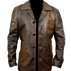 $70 Off at Dean Winchester Supernatural Distressed Brown Long Leather Coat